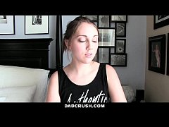 Dad Crush- Caught and Punished Step-Daughter Fo...