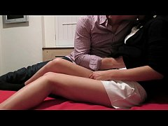 Cheating Asian wife with lover