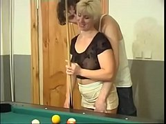 Milf anal fuck after billiards - continue with ...