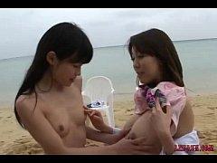 Shy Asian Babes Kissing Sucking Tongue Licking ...