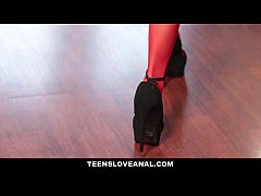 TeensLoveAnal - Perfect GF Offers Anal Blindfold Surprise