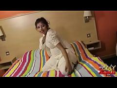 Rupali Bhabhi Hot Gujarati Babe White Shalwar S...