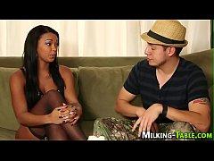 Black masseuse facialized