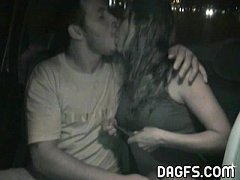 Caught on tape fucking in a Spanish cab