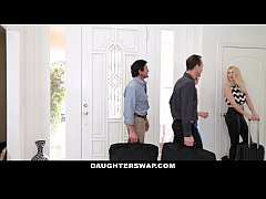 DaugherSwap - Hot Teens Fuck Dads During Mardis...