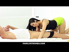 FamilyStrokes - Fathers Day Gift From Cute Horny Step-Daughter