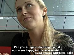 CZECH STREETS - Blonde MILF Picked up on  ...