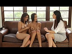 India Summer joins to Chloe Amour and Shyla Jen...