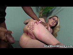 Angela Attison Anal Fucked by a Huge Black Cock...