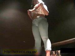 Sexy mexicana culona espiada en vestidor