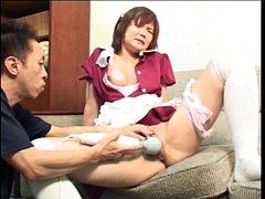 JAPAN HD Shy Asian Teen maid wants creampie