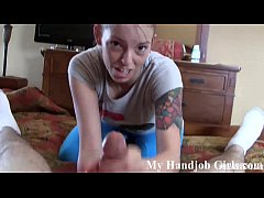 I will surprise you with a POV handjob JOI