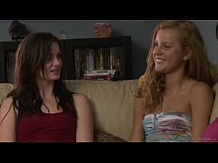 Lily Carter And Jessie Rogers Have Girl On Girl...
