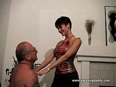 Trillian Gets On Her Knees To Please Uncl ...