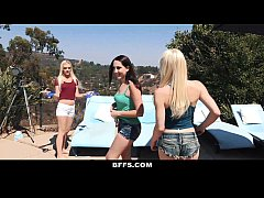 BFFS - Hot BFFS Have Pool Party Orgy