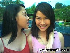 Real Teen Asian GFs!