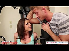 Brunette Brooklyn Chase gets big tits jizzed
