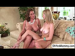 Stepmom Eva Notty raids for sex to teen Alli Ra...