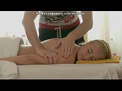 Sexy girl has tit massage and fuck