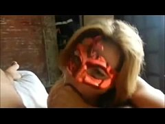 Masked Amateur Horny Cock Sucker