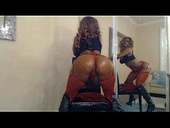 Busty Stripper Nyla Storm Bounces Her Big Butt ...