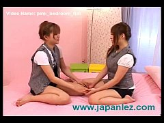 Girls in Pink Bedroom Can't Get Their Hands Off...