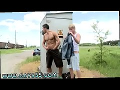 Public gay blowjob straight The trees are blowing and the grass is