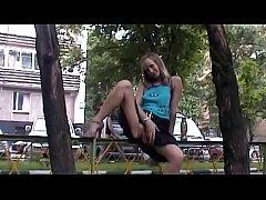 Russian Girls Public Compilation