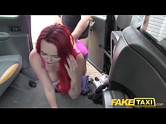 Fake Taxi Sexy redhead with huge tits