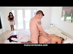 FamilyStrokes - Mothers Day Threesome With Step...