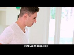 FamilyStrokes - Mothers Day Threesome With Step-Mom