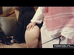 PORNFIDELITY Arab Girl Nadia Ali Punished by Wh...