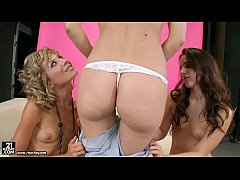 Lesbian Threesome with Sophie Moone, Ioana and ...