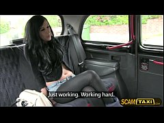 Chantelle gets pussy pounded in the backseat fo...