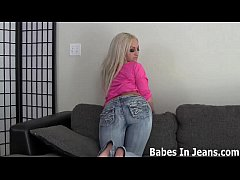 My tight Asian ass in jeans is too hot