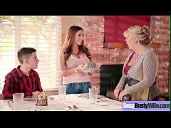 Naughty Milf (Ariella Ferrera) With Bigtits Tak...