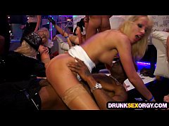 Shocking sex party full of chicks