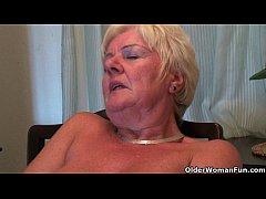 British and curvy grandma Sandie collection