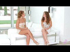 Pre party surprise by Sapphic Erotica - Sylvia Lauren and Bunny Babe lesbians