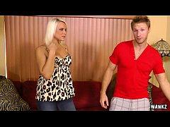 WANKZ- Blonde Slut Slams Her Neighbor