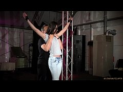 Hot Russian Arwen Gold sex object restrained and fucked