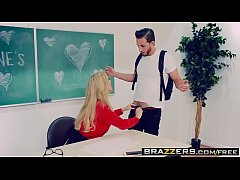 Brazzers - Big Tits at School -  Desperate For ...