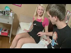 Russian Brother Teaches Sister Anal Sex