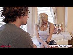 Chesty hottie Sarah Vandella take cock