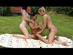 Tania with Kari doing lesbian sex on Sapphic Erotica