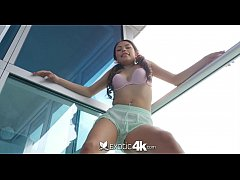 Exotic4K - Asian Samantha Parker creams all over big dick