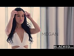 BLACKED Hot Megan Rain Gets DP'd By Her Sugar D...