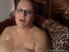 Kinky old spunker in sexy lingerie wants you to...