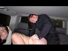 Takevan Foursome in driving car with Mea Melone...