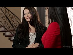 Allie Haze and Mercedes Carrera at Mommy's Girl